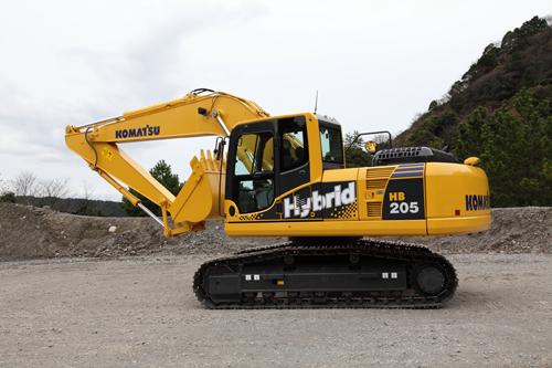 Komatsu-Hybrid-Excavator